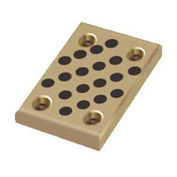 bronze wear plate,oilless thrust plate,oiles slide guide