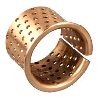 flanged wrap bronze bush,wrapped flange bronze bushing